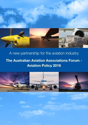 A new partnership for the aviation industry