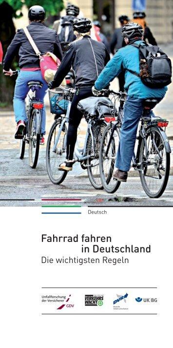 Fahrrad fahren in Deutschland