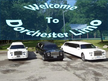 Luxury Limousine in London Ontario at Dorchester Limo