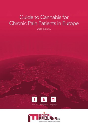 Guide to Cannabis for Chronic PainPatients in Europe