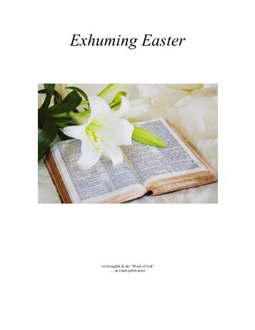 Exhuming Easter (complete - 3rd edition)
