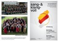 Sang- und Klang VOLL