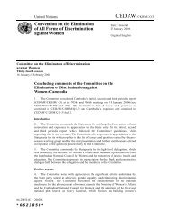Convention on the Elimination of All Forms of Discrimination against ...