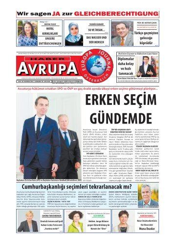 EUROPA JOURNAL - HABER AVRUPA JUNI2016