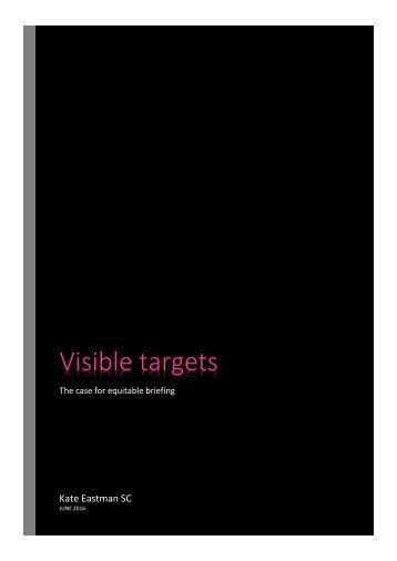 Visible targets