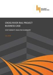 CROSS RIVER RAIL PROJECT BUSINESS CASE