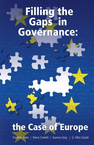 Filling the Gaps in Governance