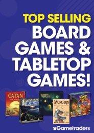 Gametraders Board Game Catalogue - June 2016