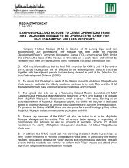 3 July 12: Media Statement - Majlis Ugama Islam Singapura