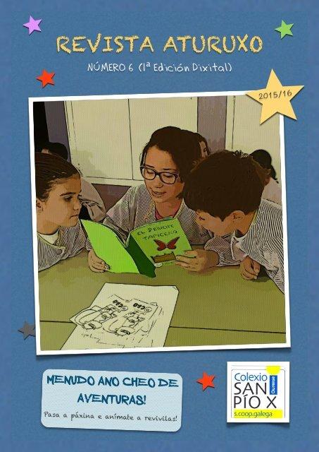 Revista Aturuxo Nº 6 (1ª Edición Dixital) – Curso 2015/16
