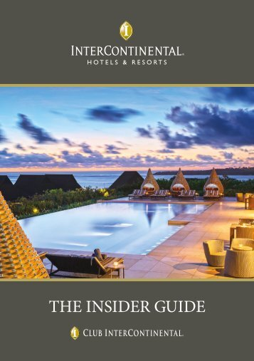 THE INSIDER GUIDE