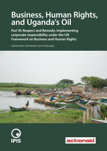 Business Human Rights and Uganda's Oil