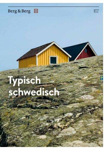 Berg & Berg Magazin - Typisch schwedisch