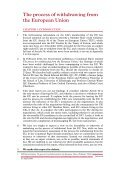 The process of withdrawing from the European Union - Page 5