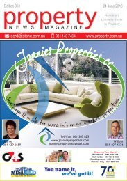 Property News Magazine - Edition 361 - 24 June 2016