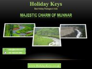 Majestic Charm of Munnar - HolidayKeys.co.uk