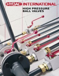 High Pressure Ball Valves - Airline Hydraulics