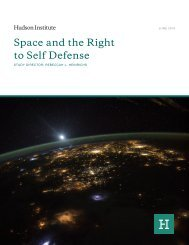 Space and the Right to Self Defense