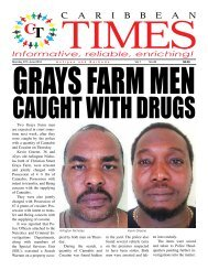 Caribbean Times 38th Issue - Monday 27th June 2016