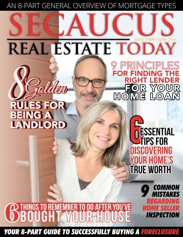 Secaucus Real Estate Today - May/June 2016