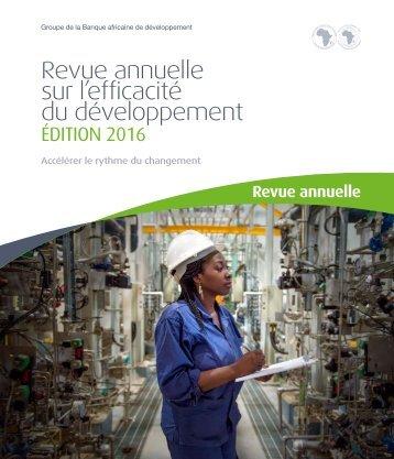 Revue annuelle sur l'efficacité du développement