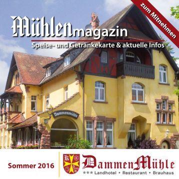 Das Mühlenmagazin Sommer