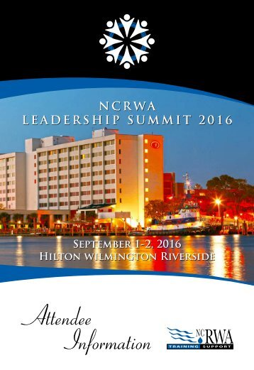NCRWA LEADERSHIP SUMMIT 2016