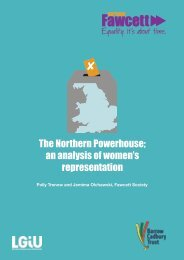 The Northern Powerhouse an analysis of women's representation