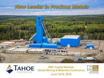 New Leader in Precious Metals