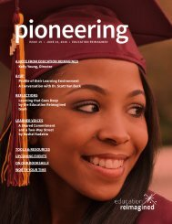 pioneering