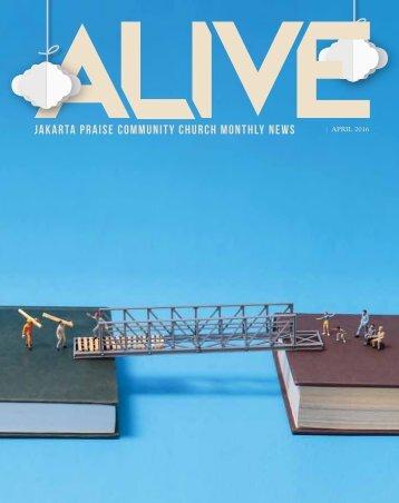 JPCC ALIVE April 2016