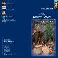 KHM-1083-11 Weihnachtskarte EW 02.indd - Klinik Hohe Mark