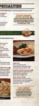 Pane's Restaurant - Dinner Menu - Page 6