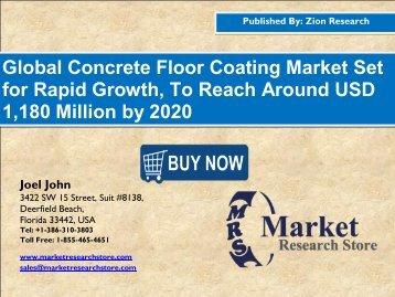 Concrete Floor Coating Market