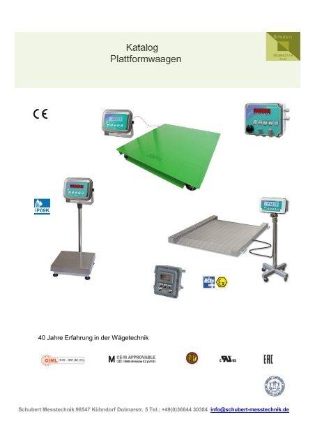 Katalog Plattformwaagen