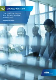 The growth imperative in a more competitive environment