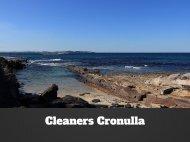 Cleaners Cronulla