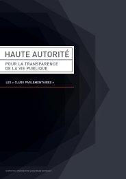 HAUTE AUTORITÉ