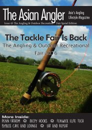 The Asian Angler - June 2016 Digital Issue - Malaysia - English
