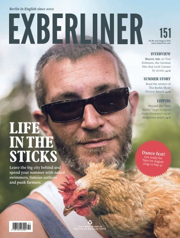 EXBERLINER Issue 151 July-August 2016