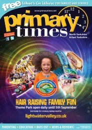 Primary Times North and East Yorkshire Summer 2016