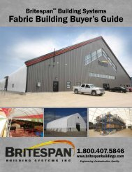 Fabric Building Buyer's Guide