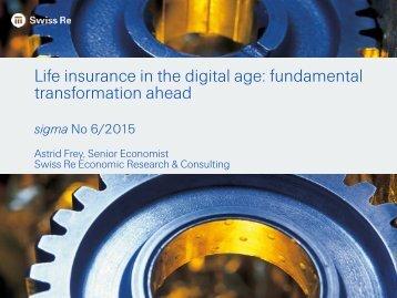 Life insurance in the digital age fundamental transformation ahead