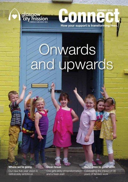 Onwards and upwards