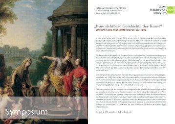 Symposium - Kunsthistorisches Museum Wien