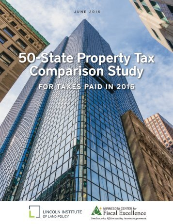 50-State Property Tax Comparison Study