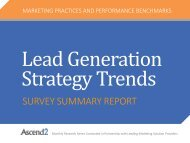 Lead Generation Strategy Trends