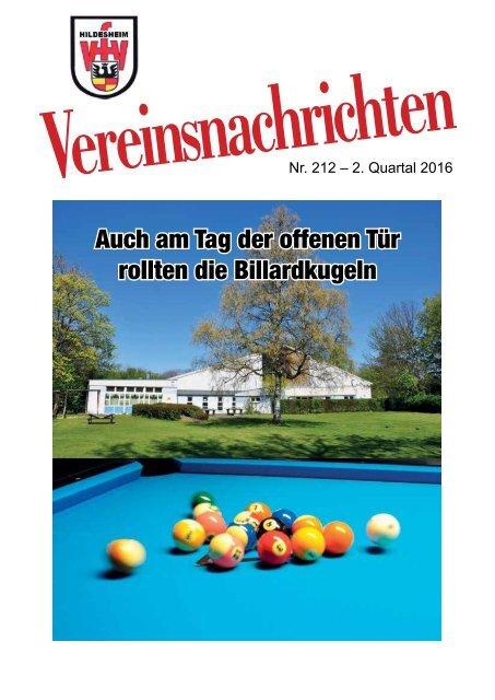 VfV Hildesheim Vereinszeitung 22016