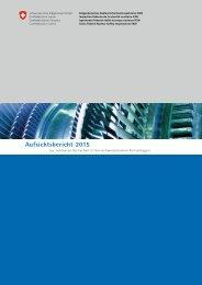 Aufsichtsbericht 2015