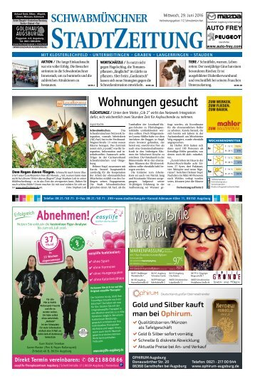 112 Schwabmünchen 29.06.2016